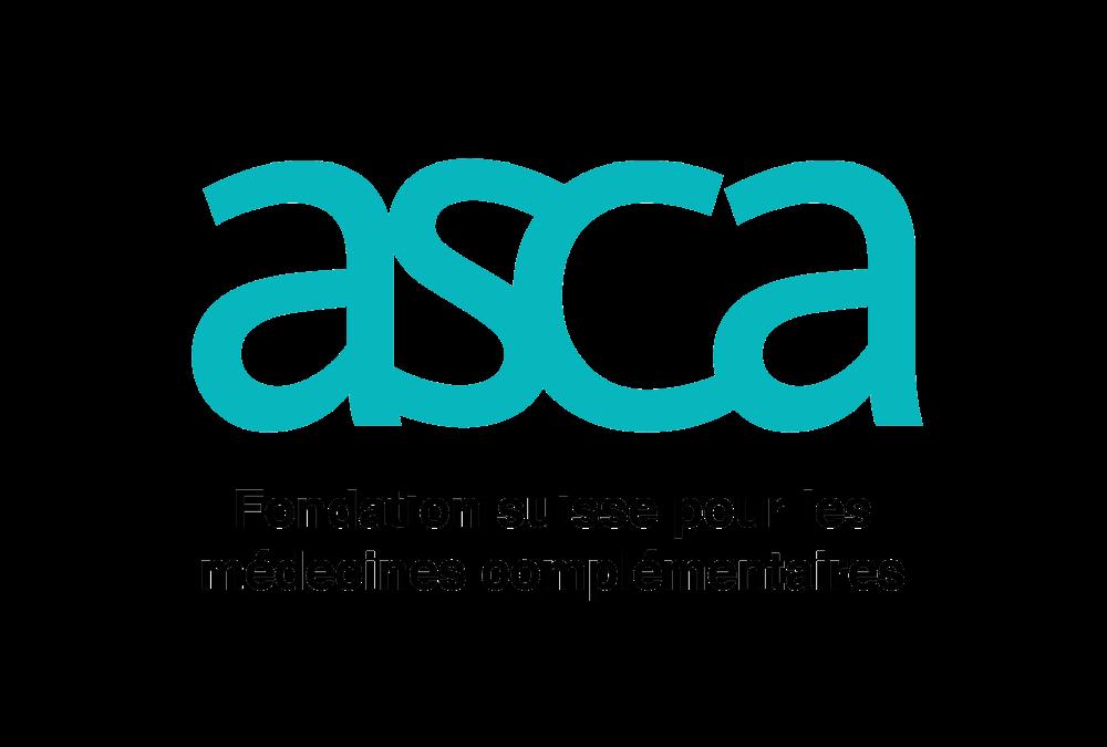 l'étiopathe olivier rey est reconnu par l'ASCA pour l'étiopathie